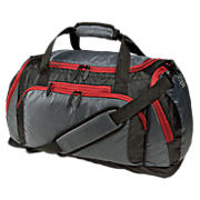 Performance Duffel, Grey with Black & Red