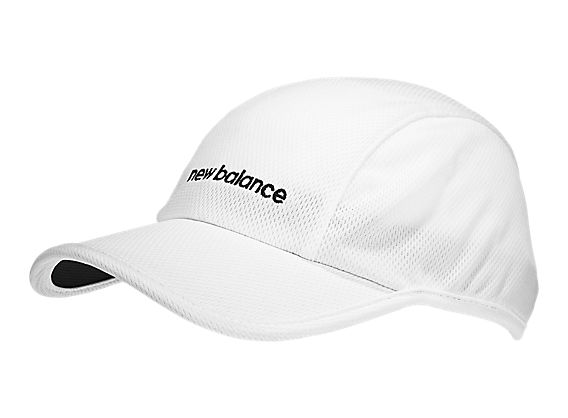 Endurance 3 Panel Mesh Cap, White