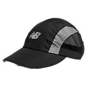 Tri-Viz Hat, Black with Grey