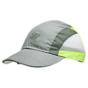 Tri-Viz Hat, Grey with Yellow & White