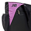Wellness Tote, Black with Pink