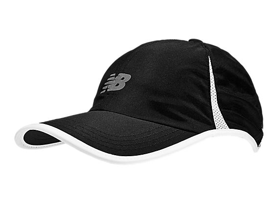 Endurance Club Cap, Black with White