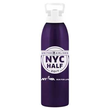 New Balance United NYC Half Waterbottle, Purple