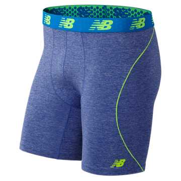 New Balance NB Flex Boxer Brief, Marine Heather
