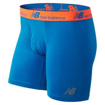 New Balance NB Dry NB Fresh Performance Underwear 2 pack, Sonar with Lava