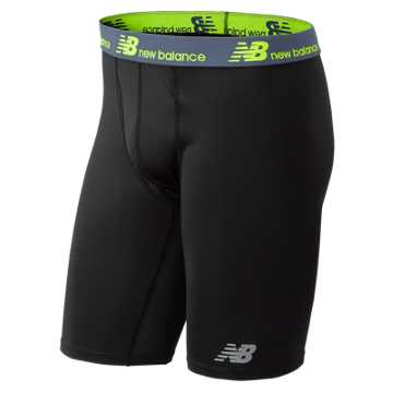 New Balance NB Dry NB Fresh 9 Inch Boxer Brief, Black