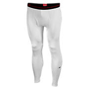 Base Layer Compression Legging, White