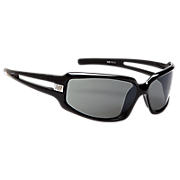 Performance Sunglasses, Black with Silver