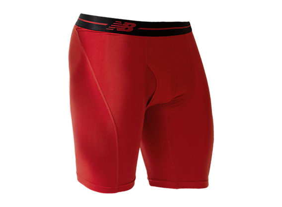 "Sport Brief 9"", Red with Black"