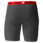"Sport Brief 9"", Grey with Red"