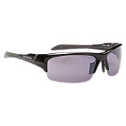 Lightweight Impact Sunglasses, Black with Grey