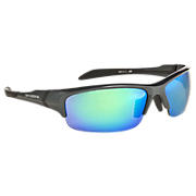 Lightweight Impact Sunglasses, Grey with Blue