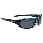 Sunglasses with Polarized Lenses, Blue with Black