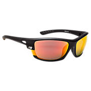 Performance Sunglasses, Black with Red