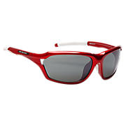 Performance Sunglasses, Red with Silver