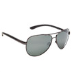 Aviator with Polarized Lenses, Black