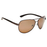 Aviator with Polarized Lenses, Brown