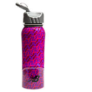 New Balance 700ml Steel Komen Bottle, Pink with Komen Pink & Purple