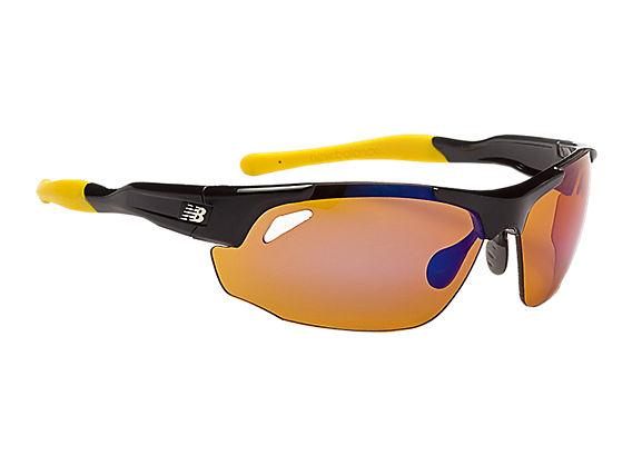 Interchangeable Lens Sunglasses, Black with Yellow