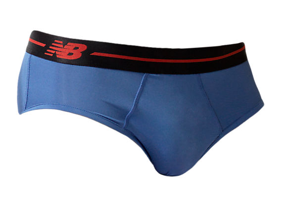 Sport Brief, Blue with Black