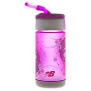 Kids Tritan 320ml bottle, Purple Cactus Flower with Diva Pink & Green Oasis