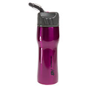 500 mL Stainless Steel Water Bottle, Festival Fuchsia with Grey