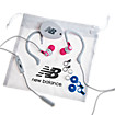 2-in-1 Sport Earbuds with Removable Earhooks, White