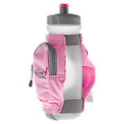 Komen Handheld Water Bottle, Pink with Light Grey