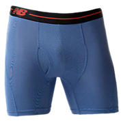 "Sport Brief 6"", Blue with Black"