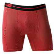 "Sport Brief 6"", Red with Black"
