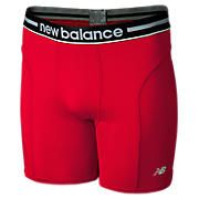 "Lifestyle Boxer Brief 6"", Formula One Red with Black"