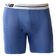 "Sport Brief 6"", Blue with Silver"