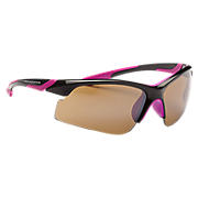Performance Sunglasses, Black with Pink
