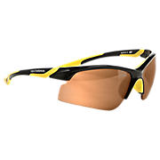 Performance Sunglasses, Black with Yellow