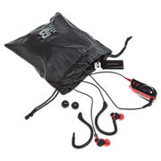 2-in-1 Sport Earbuds/Earhooks, Black