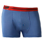 "Sport Trunk 3"", Blue with Red & Black"