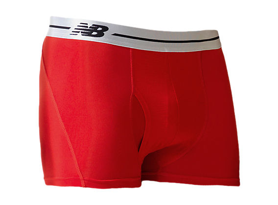 "Sport Trunk 3"", Red with Silver"