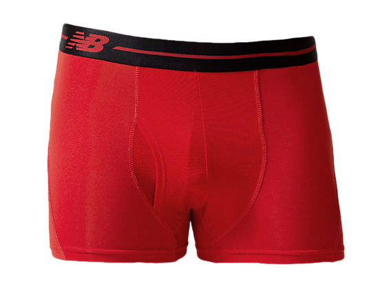 "Sport Trunk 3"", Red with Black"