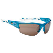 Lightweight Impact Sunglasses, Blue with Light Blue & Silver