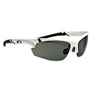 Interchangeable Lens Sunglasses, White with Black