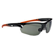 Interchangeable Lens Sunglasses, Black with Orange