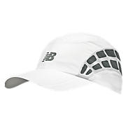 Momentum Stride Cap, White with Athletic Grey