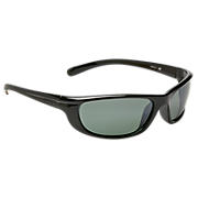 Sunglasses with Polarized Lenses, Grey with Silver