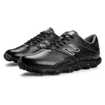 New Balance Minimus LX Golf, Black with White
