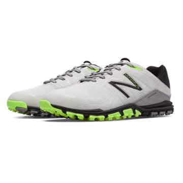 New Balance New Balance Golf 1005, White with Grey & Green Apple