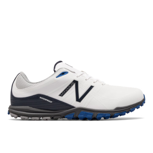 New Balance Golf 1005 Men's Golf Shoes - White/Blue/Black (NBG1005WB)