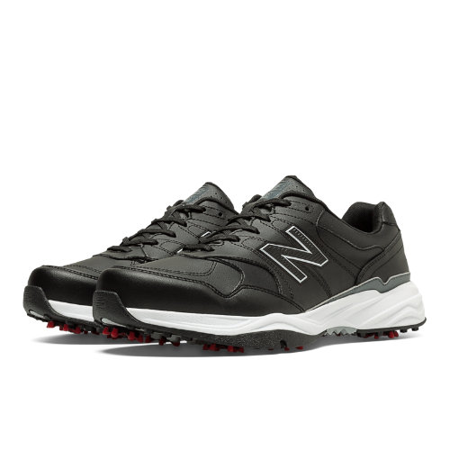 Men's New Balance NBG1701 Golf Shoe - Black Lace Up Shoes