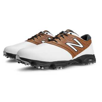 New Balance New Balance Golf 2001, White with Brown