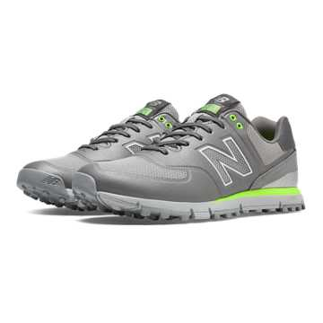 New Balance New Balance Golf 574, Grey with Lime Green