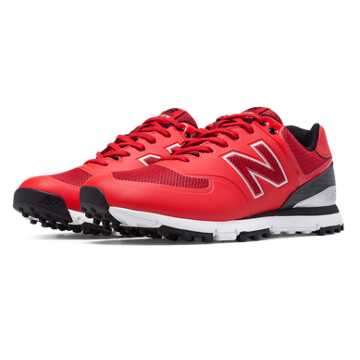 New Balance New Balance Golf 574, Red with Black & White